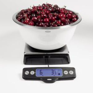 Oxo food scale open