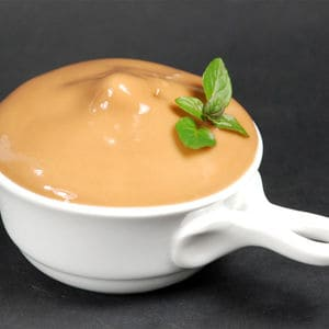 Chocolate gelatin foam 2