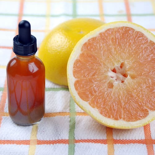 Grapefruit bitters dropper top
