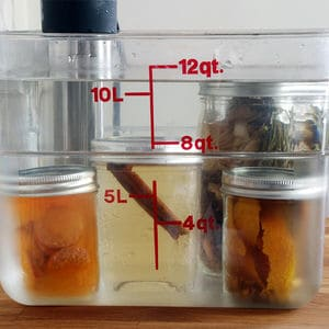 Sous vide infusions