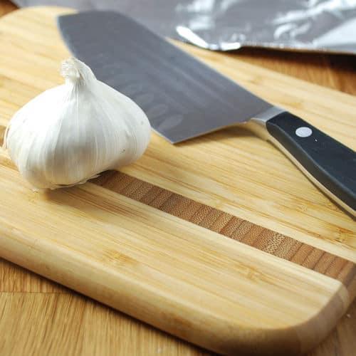 Sous vide garlic