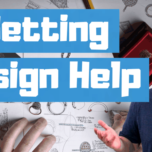 How to get design help