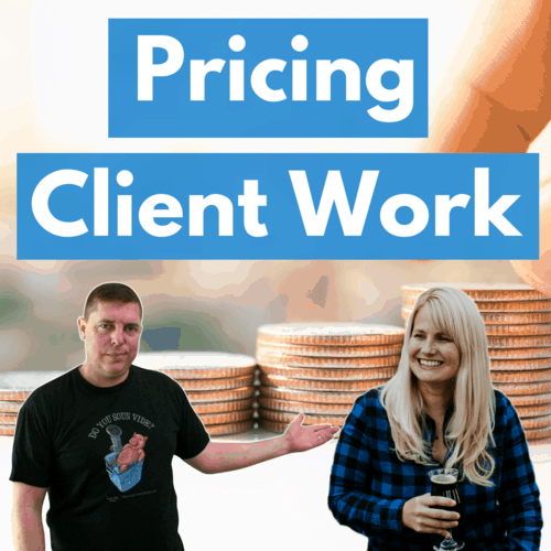 How do you price client work square