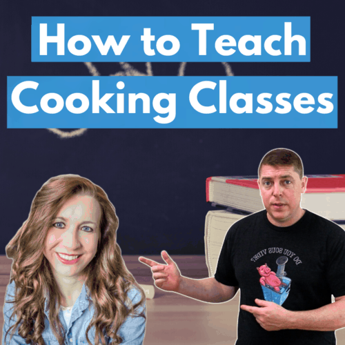 How to teach cooking classes of your own website square