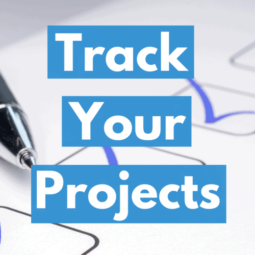 Easily track your projects square