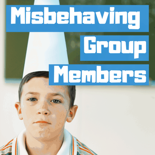 Misbehaving group members