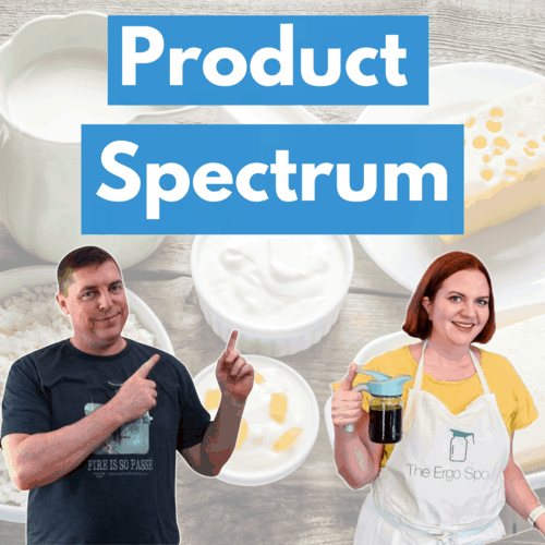 The product spectrum with kate hansen square