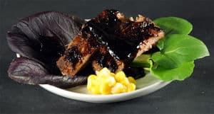 xanthan gum Balsamic vinegar syrup ribs