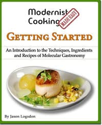 Modernist cooking made easy book shadow