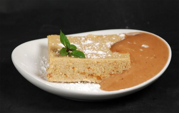 Peanut butter carrageenan custard