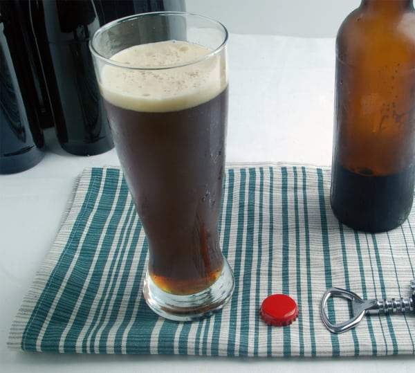 First sous vide beer
