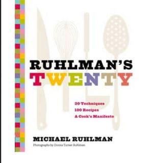 Ruhlman twenty