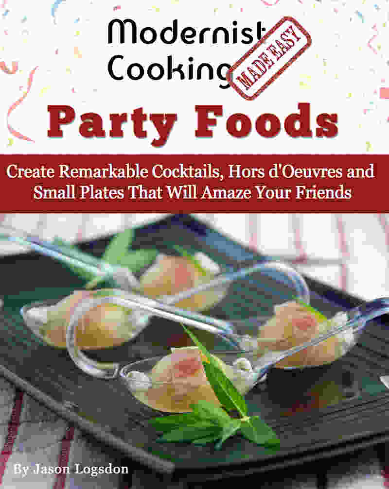 Modernist cooking party foods cover medium