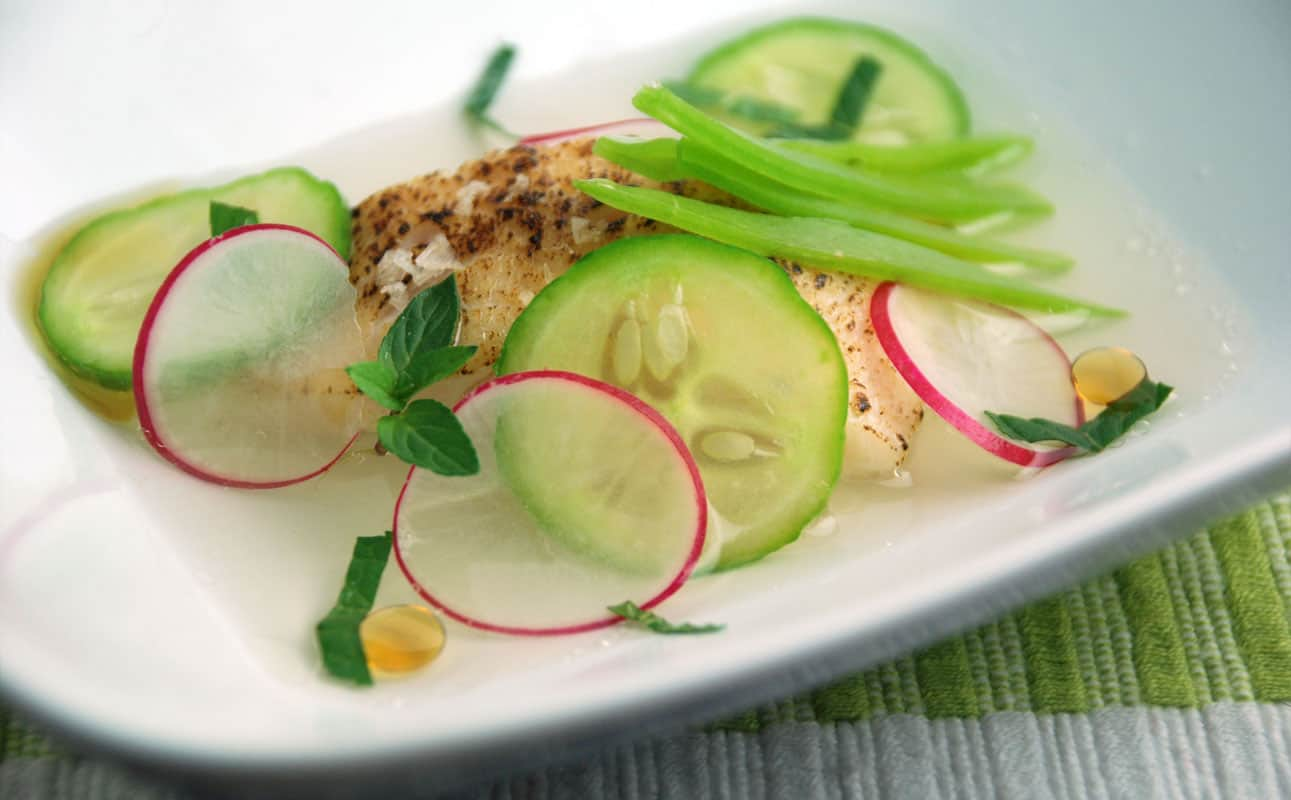 how to souse vide fish