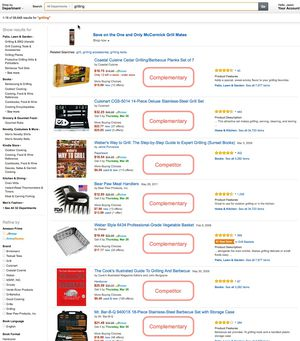 Amazon grilling general search