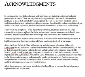 Jason logsdon published acknowledgments