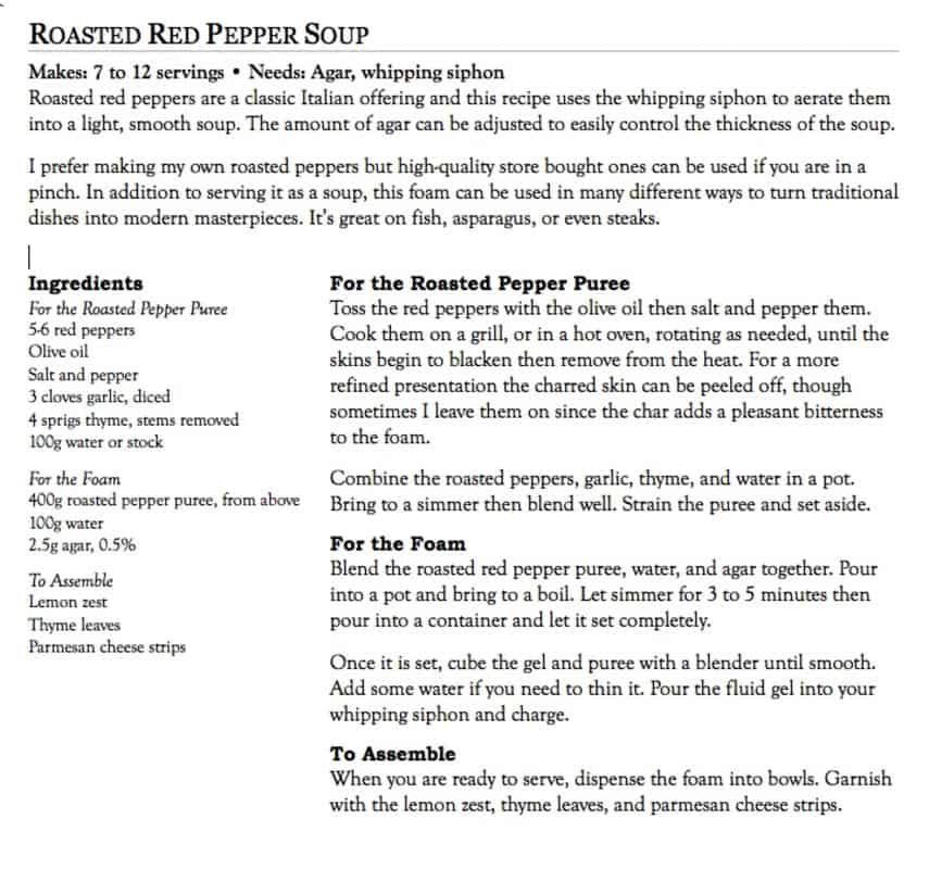 recipe layouts self publish a cookbook com
