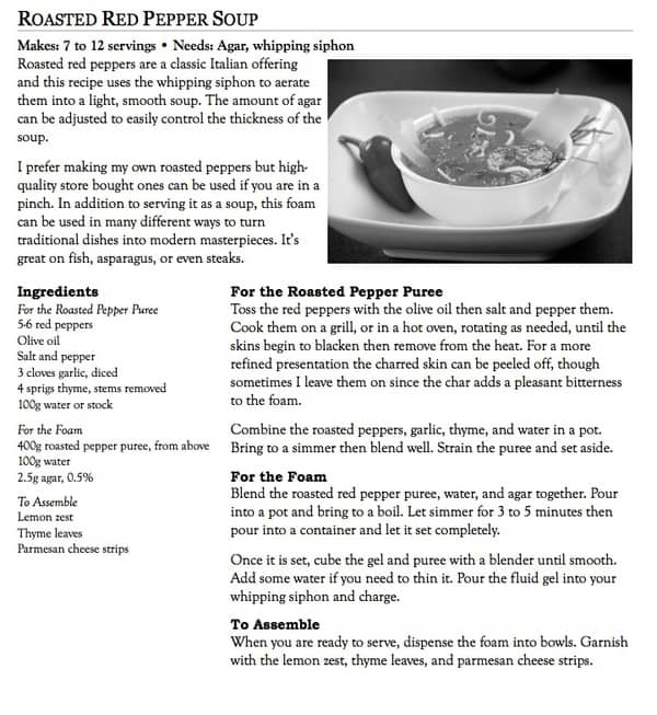 Sample recipe 4