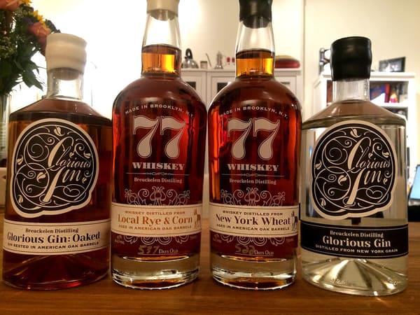 Breuckelen 77 whiskey aged gin