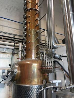 Breuckelen distilling still