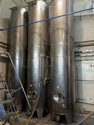 Breuckelen distilling tanks
