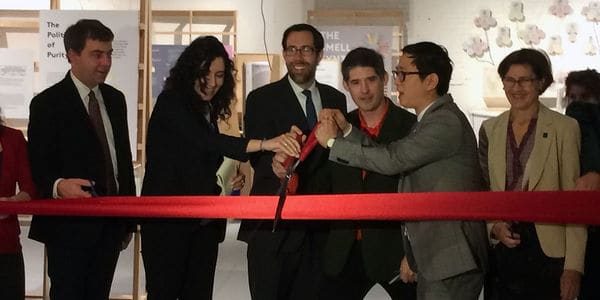 Mofad ribbon cutting