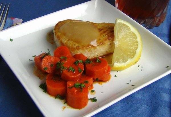 Tarragon lemon infused vinaigrette