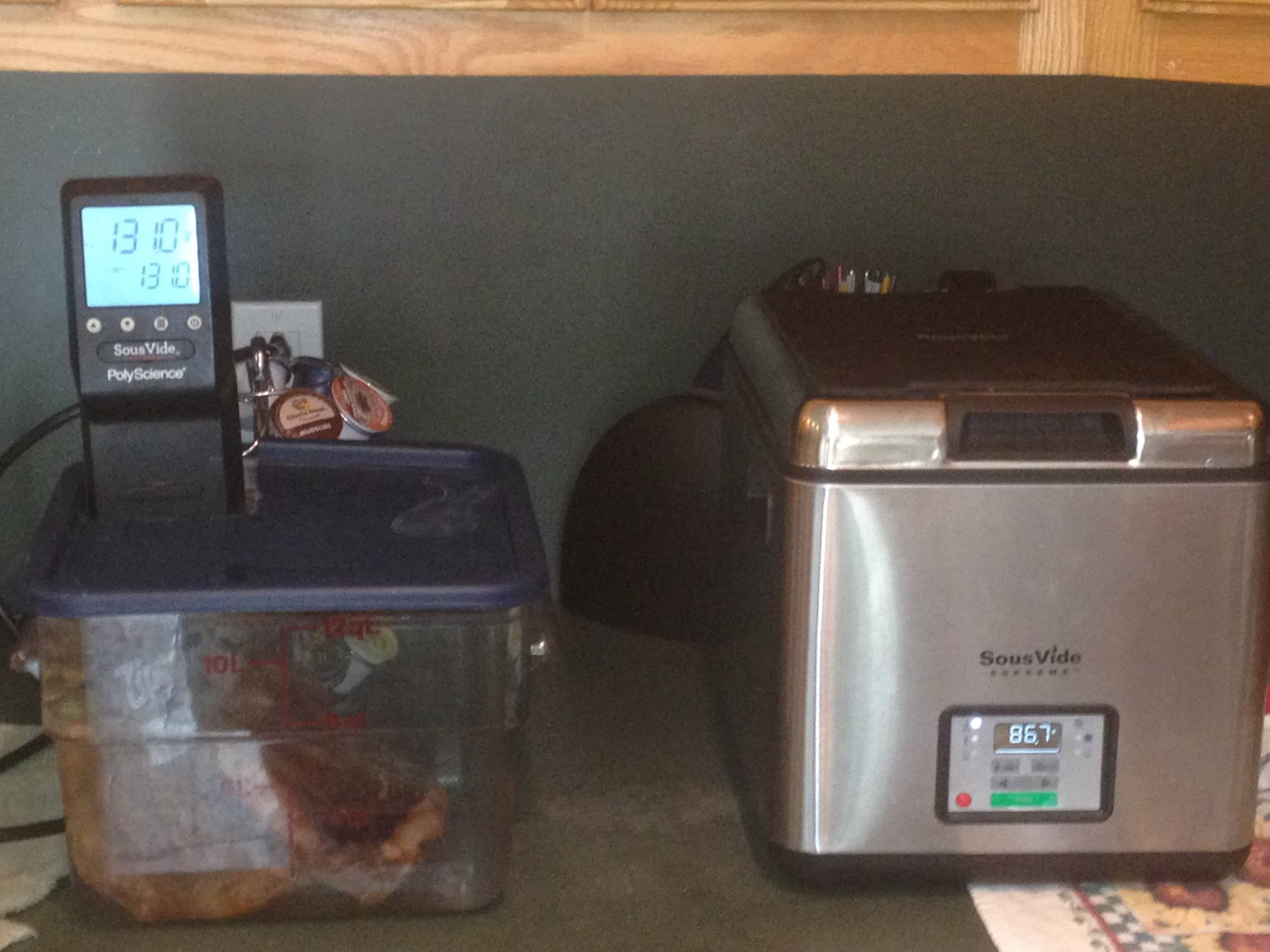 how do i sous vide steaks to two different temperatures ask jason amazing food made easy. Black Bedroom Furniture Sets. Home Design Ideas