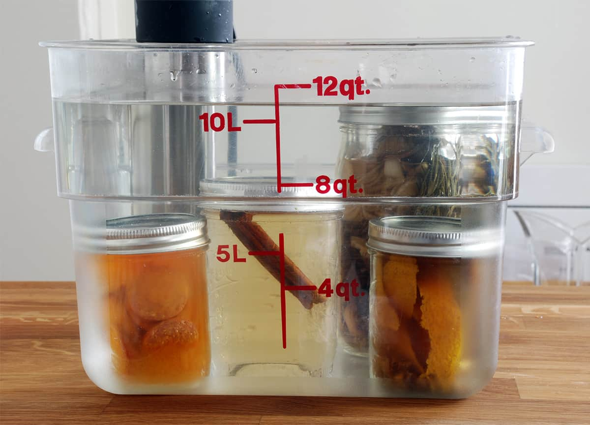 How to make sous vide infusions amazing food made easy for Cuisine sous vide