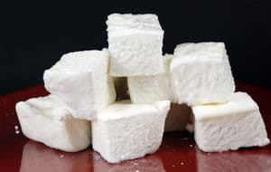 Gelatin marshmallows