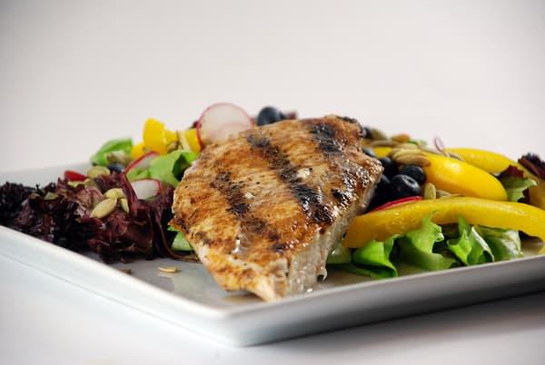 Sous vide chicken salad