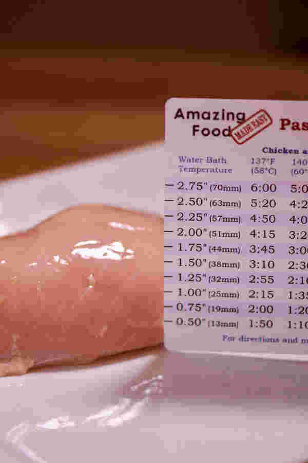 Sous vide thickness ruler 7