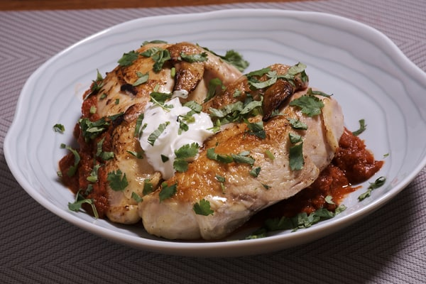 Sous vide chicken tikka masala 3