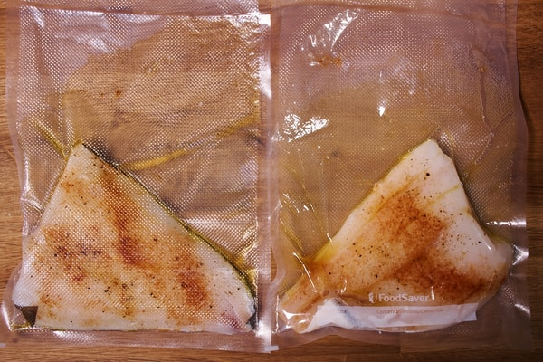 Sous vide halibut chimichurri sauce 3