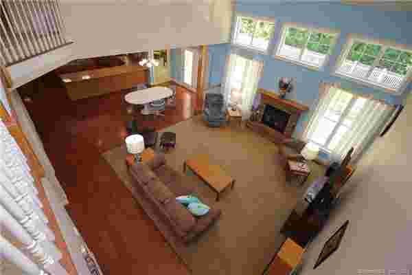 Main floor from above