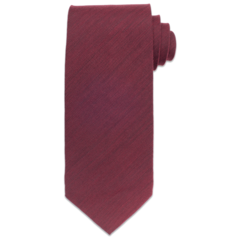 Brushed Wool - Red Tie