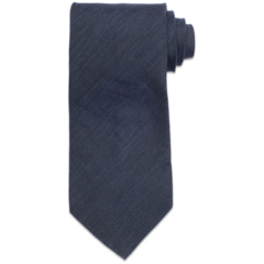 Brushed Wool - Dark Navy Tie