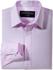 Daily Grind Textured Pink Button-Up Woven