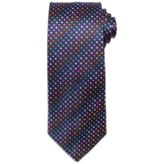 Multi-colored geometric madness Tie