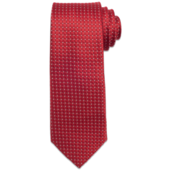 Campaign Ready Red Polk-A-dot Tie