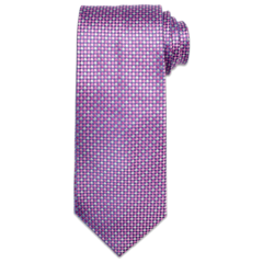 Pink and Purple Diamond Tie