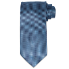 Hues of Blue Pinpoint Textured Tie