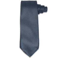Lt. and Dark Blue Woven Tie