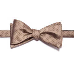 Gold Polk-a-Dot Bow Tie