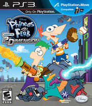 Phineas and Ferb: Across the Second Dimension para PS3