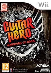 Guitar Hero: Warriors of Rock para Wii