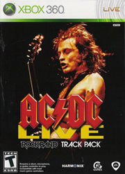 AC/DC Live: Rock Band Track Pack para XBOX 360