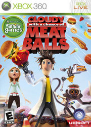 Cloudy With a Chance of Meatballs para XBOX 360