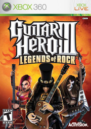 Guitar Hero III: Legends of Rock para XBOX 360