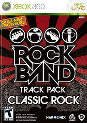 Rock Band Track Pack: Classic Rock para XBOX 360